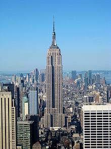 Empire State Building - my hometown symbol.